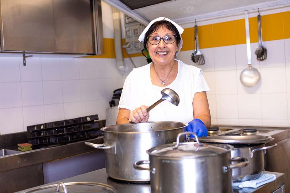 Cucina interna Casa di riposo Residenza Serena Genova