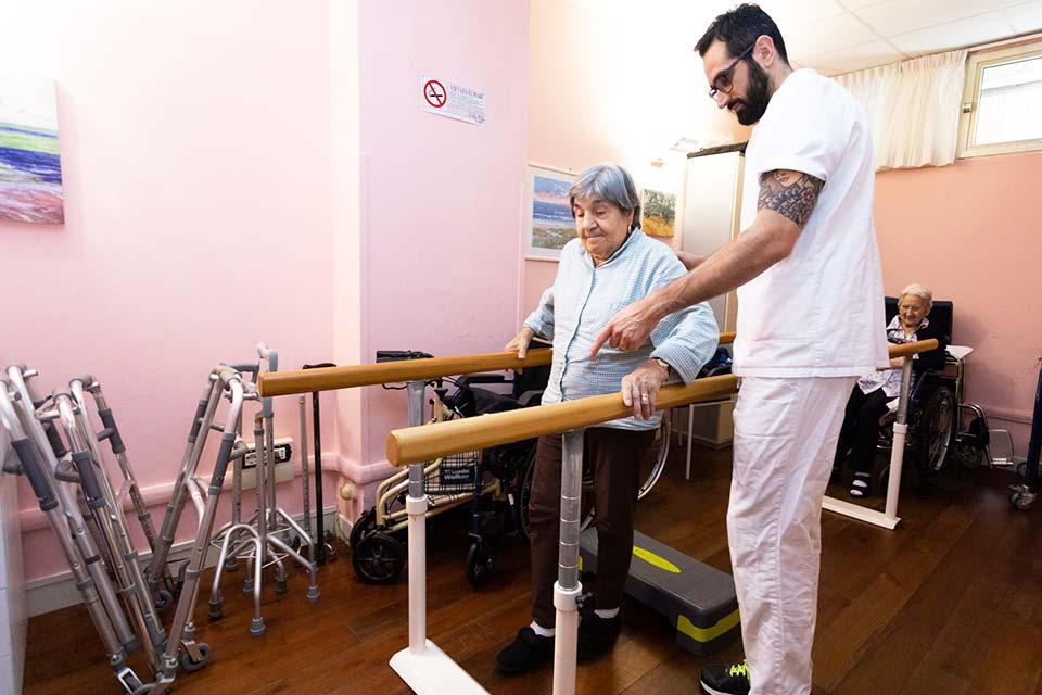 Fisioterapista casa di riposo residenza serena Genova