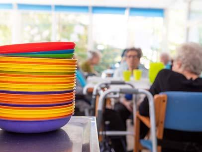 Giornata Casa di riposo Residenza Serena la colazione
