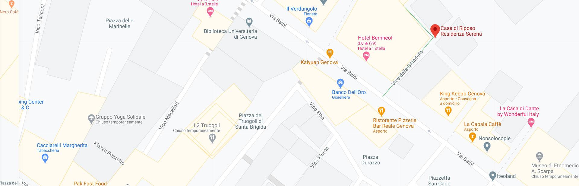 Casa di riposo Genova Residenza Serena