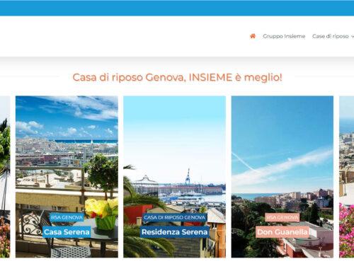Online il nuovo portale del Gruppo Insieme casadiriposogenova.it