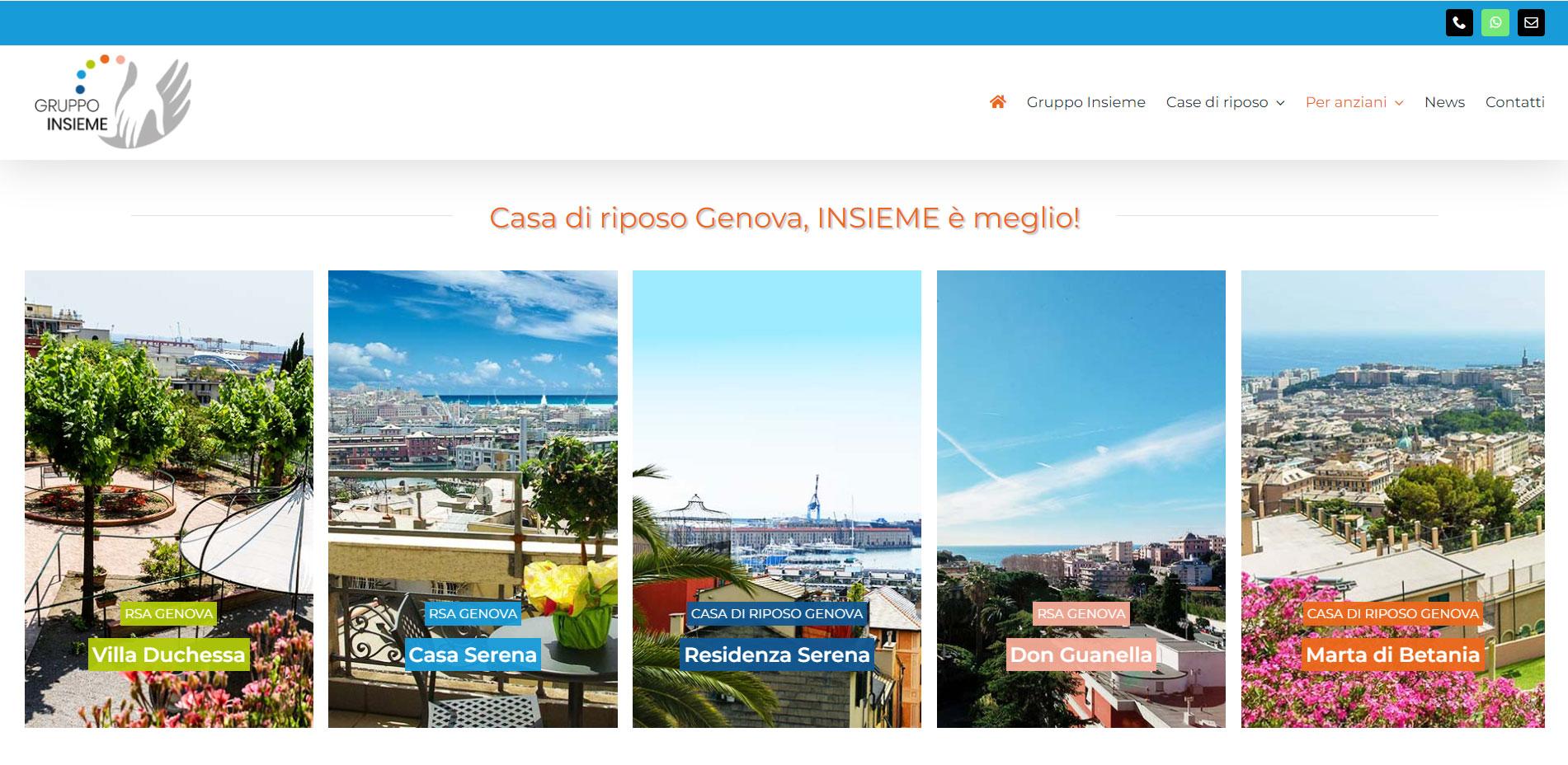 Case di Riposo Genova